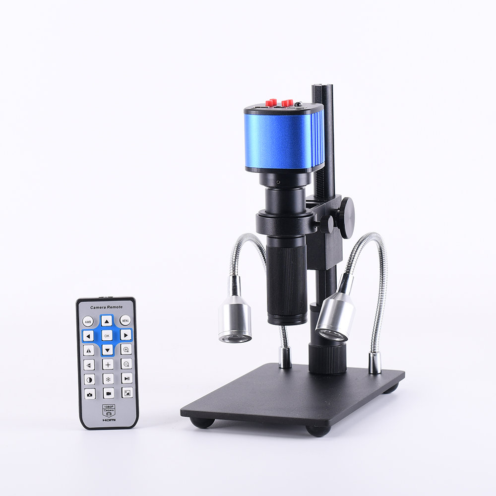 HAYEAR 16MP HDMI 1920x1080P Resolution Digital HD Microscope Camera 150X Magnification Optical Lens